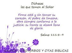 salmo 111: 8-9