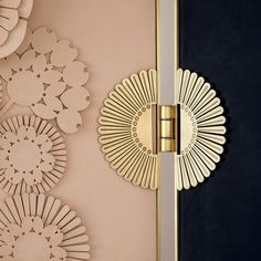 How the Art Deco Trend Matches the Style of PullCast Textures Patterns, Print Patterns, Wardrobe Handles, Mobiles, Brass Hinges, Minimalist Room, Art Deco Home, Art Deco Furniture, Door Handles