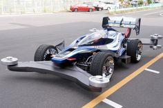 [画像]タミヤの実車版ミニ四駆「エアロ アバンテ」が走った!…最高速180km/h / 水平対向4気筒OHV 1.6リッターエンジン搭載(1/10) - Car…