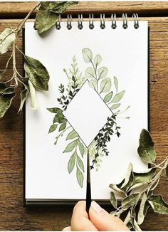 Forever Fern Hello Card - Alisa Tilsner Diy Quote Cards, Cards Diy, Art Cards, Art Sketches, Art Drawings, People Drawings, Disney Drawings, Pencil Drawings, Drawings Of Plants
