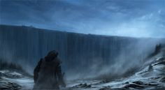 The Wall - The Shield that Guards the Realms of Men by Rene Aigne #got #agot #asoiaf