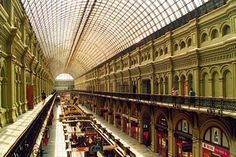 Department Store, GUM. Moscow, Russia