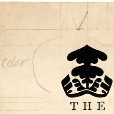 """W. A. Dwiggins. Original sketch for book spine, """"The Green Continent"""", Alfred A. Knopf, 1944."""