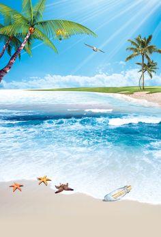 Trendy ideas for palm tree background beach Palm Tree Background, Beach Background, Episode Backgrounds, Summer Backgrounds, Wallpaper Backgrounds, Wallpapers, Summer Wallpaper, Beach Wallpaper, Sea And Ocean
