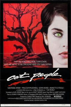 Cat People - movie poster - style A - Very Fine (8.0)