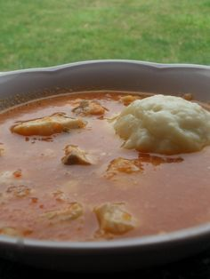 FUFU and Tilapia West African Stew