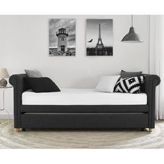 Darby Home Co Sipple Daybed with Trundle & Reviews   Wayfair
