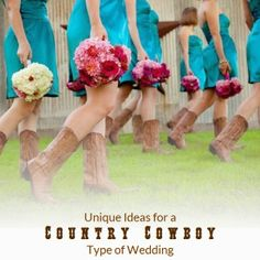 Unique Ideas for a Country Cowboy Type of Wedding