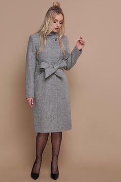 Купить Пальто ПМ-87 (серый) от TM GLEM Street Style, Fashion Outfits, Coat, Sweaters, Jackets, Dresses, Down Jackets, Vestidos, Fashion Suits