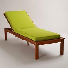 Apple Green Pool Lounger Cushion