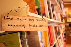 For the love of bookstores...