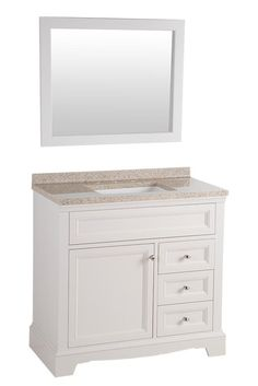 Home Decorators Collection Windsor Park In W Vanity Cream With Solid Surface Top Autumn White Basin And The Depot