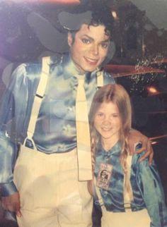 Michael Jackson and Kellie Parker