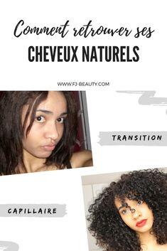 Transition capillaire : comment retrouver ses cheveux naturels #transition #chveuxnaturels #cheveuxfrisés #cheveuxbouclés