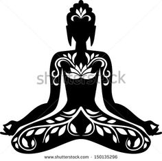 thai buddha outline - Google Search