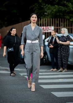 The Best Street Style At Milan Fashion Week Spring Summer 2018  - ELLEUK.com