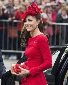 Kate Middleton's Hats  Fascinators. Photo by Keystone Press