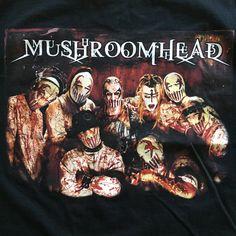 A personal favorite from my Etsy shop https://www.etsy.com/ca/listing/579417416/mushroomhead-large-t-shirt-band-shirt  #mushroomhead #mushroomheadmask #bandshirt #bandmerch #metal #slipknot #slipknotarmy #waylonreavis #disturbed #mudvayne #stonesour #coreytaylor #numetal #industrialmetal #doylevonfrankenstein #doyle #cannibalcorpse #cradleoffilth