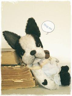 "♡+SCHNITT+/+E-BOOK+franz.+Bulldogge+""BUDDY""++♡++von+✰+Teddy-Manufaktur+✰+auf+DaWanda.com"
