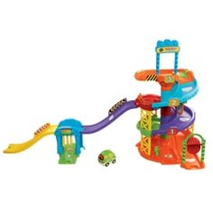 Toot-Toot Drivers Parking Tower - VTech UK