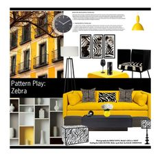 """Home decor 017 Pattern Play: Zebra"" by tracey-mason on Polyvore"
