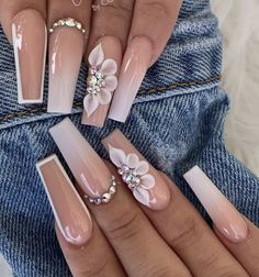 Acrylic Nails Coffin Pink, Colored Acrylic Nails, Simple Acrylic Nails, Square Acrylic Nails, Cow Nails, Nails Now, Bling Nails, Swag Nails, Curved Nails