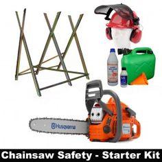 "HUSQVARNA 135-KIT 40.9cc Petrol 14"" Chainsaw with Starter Kit"