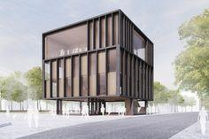 2. Preis Neubau der Musikschule und Bibliothek...competitionline