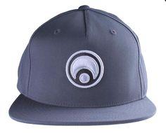 79cd876e0dd85 16   - Osiris Skateboarding Charcoal White Standard Logo Snapback Baseball Hat  Cap NWT