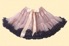 DOLLY Královna kontrastu PETTI sukně