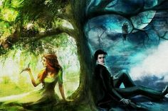 Hades and Perspephone <3  Spring and winter Greek mythology