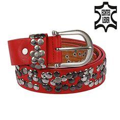 Echt Leder Gürtel silber Nieten Vintage Style alle Grössen Damengürtel kürzbar (95, Rot) Kossberg http://www.amazon.de/dp/B00MN8OR24/ref=cm_sw_r_pi_dp_Vvm4ub0AJ9M8S