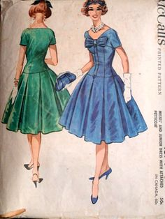 Items similar to Vintage 50 s McCall s 4674 Sewing Pattern 8f19b4bd661f