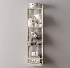 Industrial Wire 3 Cubby Storage - RH $100