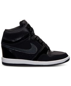 9912c5fa94880d Nike Women s Force Sky High Casual Sneakers from Finish Line Shoes - Finish  Line Athletic Sneakers - Macy s
