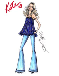 The \'Boho\' Look by Hayden Williams for Rimmel London- Kate Moss| Be inspirational  ❥|Mz. Manerz: Being well dressed is a beautiful form of confidence, happiness & politeness