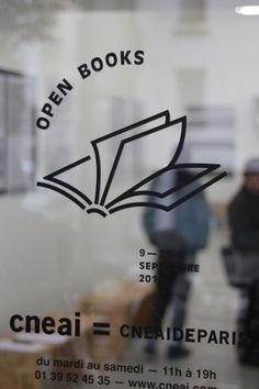 OPEN BOOKS exhibition & publication in Logo