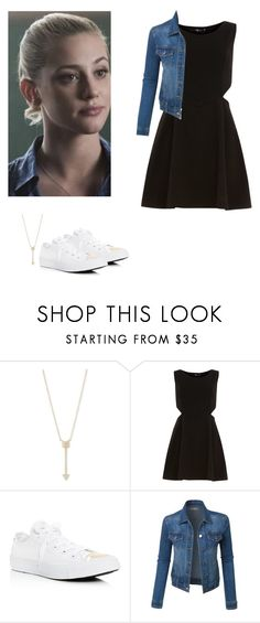 """Betty Cooper - Riverdale"" by shadyannon ❤ liked on Polyvore featuring EF Collection, Dorothy Perkins, Converse and LE3NO"