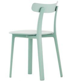 All Plastic Chair Vitra Sedia