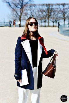 Easy Fashion: Rebecca - Les Tuileries - PFW 2015