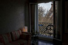 Lauren Fleishman for TIME/Paris.  A view from the inside of an apartment on Rue Suffren. March 23, 2014