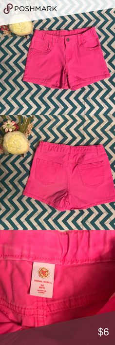 Size 14 girls pink jean shorts Size 14 girls pink shorts in good condition. Prices are always negotiable and bundling is always appreciated and discounted   #girlsshort #shorts #pink total girl Bottoms Skorts