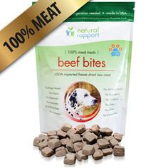 All Natural Freeze Dried Beef Bites – The Best Dog Treats – 100% Meat (No Fillers, Additives, Gluten, Wheat, etc.) – Perfect Dog Training and Puppy Treats – Great For Traveling - Made in USA ^^ New and awesome dog product awaits you, Read it now  : Dog Food