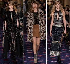Paris: The catwalk was set with 50,000 books lining the shelves surrounding the runway as models walked out in head-to-toe velvet, striped furs, and...