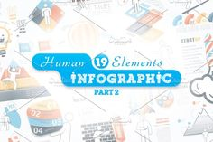 @newkoko2020 Human Infographic Bundle (part 2) by Infographic Paradise on @creativemarket #infographic #infographics #bundle #design #template #presentation #vector #business #layout #creative #graph #information #visualization