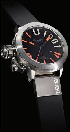 U-Boat Classico 47mm 1001 Meter Orange Limited Edition