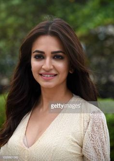 Indian Bollywood actress Kriti Kharbanda poses during a promotional event for her upcoming action comedy film Yamla Pagla Deewana Phir Se in Mumbai on August (Photo by - / AFP) (Photo credit should read -/AFP/Getty Images) Bollywood Actress Hot Photos, Indian Bollywood Actress, Bollywood Girls, Beautiful Bollywood Actress, Indian Tv Actress, Beautiful Girl Indian, Most Beautiful Indian Actress, Indian Celebrities, Bollywood Celebrities