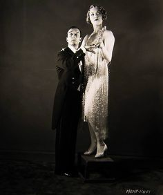 Buster Keaton and Leila Hyams, 1929 - summers in sunnydale Vintage Hollywood, Classic Hollywood, Hollywood Actresses, Actors & Actresses, Leila Hyams, Joseph Frank, Circus Performers, Hollywood Walk Of Fame, Silent Film