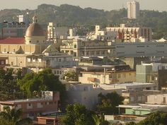 Mayaguez, Puerto Rico. Town we lived a few minutes away from. I love Puerto Rico