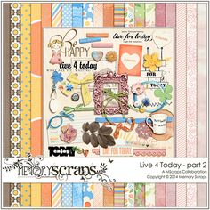 Live 4 Today: Part 2 :: Store Collaborations :: Memory Scraps
